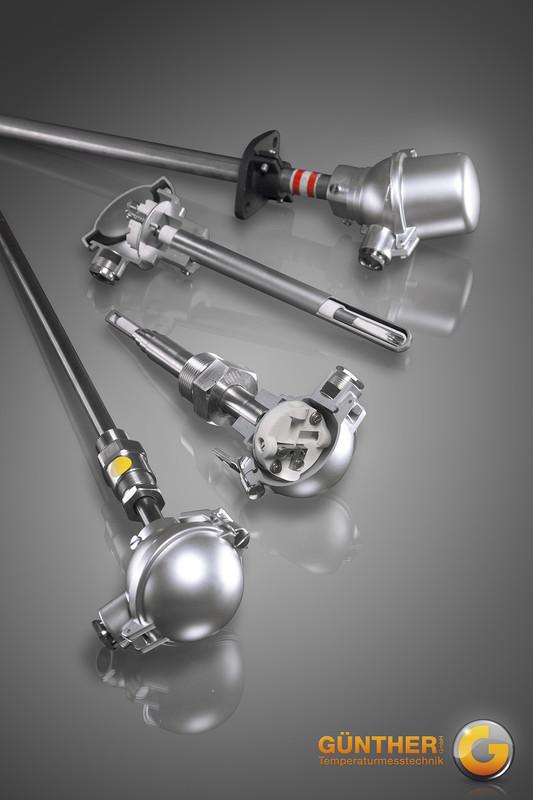 Thermoelemente mit Metallschutzrohr und ThermopaarProduktgruppe 00-TMT