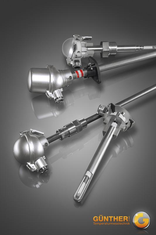 Thermoelemente mit Metallschutzrohr und Mantelmesseinsatz Produktgruppe 10-TMM