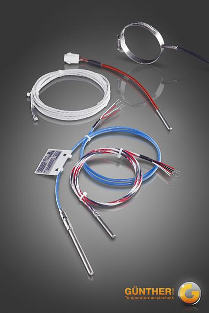 Kabel-Thermoelemente und Kabel- WiderstandsthermometerProduktgruppe71-KFT / 72-KFW