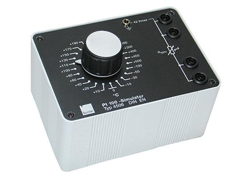 Präzisions-Pt 100-Simulator Typ 4506, 4506 S burster