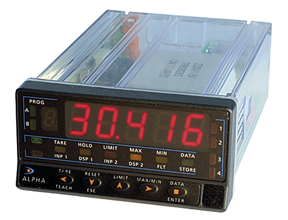 High Performance Digital Panel Meter Serie KOSMOS Typ ALPHA-C DITEL