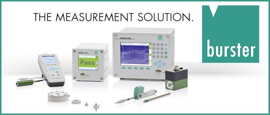 burster präzisionsmesstechnik gmbh & co kg | Sensoren, Präzisionsmessgeräte und Messsystemen zur Sensorsignalverarbeitung